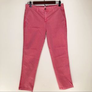 Gap Pink Girlfriend Twill Chinos